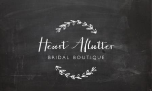 heart aflutter logo1 300x179 Profile: Heart Aflutter Bridal Boutique: A dress to die for!